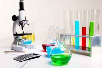 Image of chemistry or biology laborotary equipment